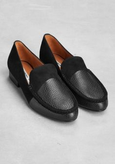 & Other Stories | Suede loafers