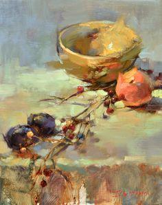 Ingrid Christensen. A Painter's Progress: Painting a Still Life Start to Finish