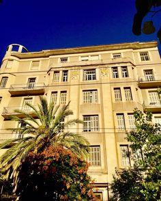 Old House,Mavromateon street,Athens,Greece Bauhaus, Athens Greece, Greek, Eyes, Architecture, Live, House Styles, Art Deco, Home