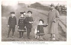 Prince George of Wales with his children, future King George V. of Britain | Flickr - Photo Sharing!
