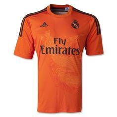 Real Madrid 14/15 Goalkeeper Away Soccer Jersey