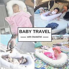 The DockATot portable baby lounger is a must for family travel. From lounging at the beach and pool to sleeping at grandma& house, DockATot portable baby bed is a baby gear essential. Baby Baby Baby Oh, Mom And Baby, Baby Sleep, Baby Love, Portable Baby Bed, Baby Co Sleeper, Goth Baby, Baby Information, Preparing For Baby