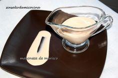 Una salsa para acompañar aperitivos o arroz que queda suave y ligera. Ingredientes: Cabezas y cáscaras de gambas Aceite de oliva Mant...
