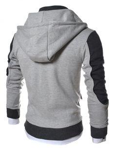 Chaqueta Slim Fit Capucha Algodón TheLees Hombre en la tienda de ropa de hombre Amazon: algodón ligero Chaquetas