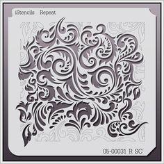 """iStencils Repeat Wall Stencil 05-00031 R SC 11 X 11"""" iStencils http://smile.amazon.com/dp/B00H1S947O/ref=cm_sw_r_pi_dp_Ka0Mtb1XCH5SVC44"""