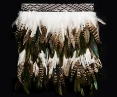 Pito (Baby) Feather Cape, Feather Skirt, Maori Art, Indigenous Art, Kite, New Zealand, Weaving, Arts And Crafts, Cloaks
