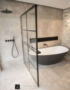Luxury Bathroom Master Baths Marble Counters is very important for your home. Whether you choose the Dream Master Bathroom Luxury or Small Bathroom Decorating Ideas, you will create the best Luxury Bathroom Master Baths Benjamin Moore for your own life. Diy Bathroom Remodel, Bathroom Renovations, Home Remodeling, Bathroom Makeovers, Shower Remodel, Dream Bathrooms, Small Bathroom, Master Bathroom, Bathroom Ideas