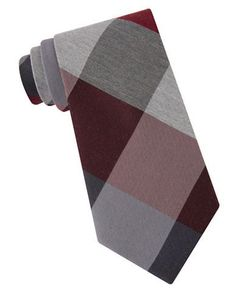 Lord & Taylor The Mens Shop Plaid Silk-Blend Tie Men's Red