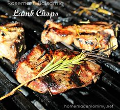 I recently picked up a whole Spring lamb I was able to purchase locally. I love the flavor of lamb and a classic pairing is rosemary. I love this marinade because ...