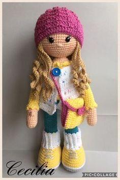 Mesmerizing Crochet an Amigurumi Rabbit Ideas. Lovely Crochet an Amigurumi Rabbit Ideas. Crochet Gifts, Cute Crochet, Crochet Baby, Crochet Tops, Easy Crochet, Crochet Beanie, Crochet Patterns Amigurumi, Amigurumi Doll, Amigurumi Tutorial