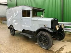 1932 Morris R Type Van. Lovely Older Restoration. Original Number Plate
