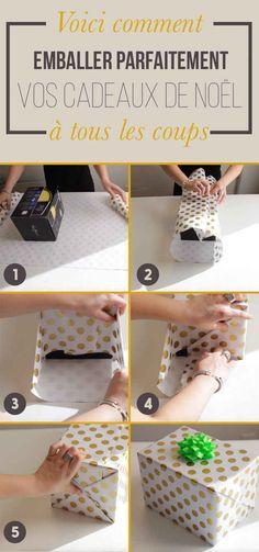 Voici comment emballer parfaitement vos cadeaux de Noël