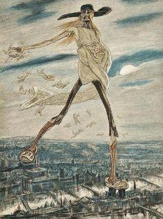 garou: Félicien Rops (1833 - 1898) - Satan sement l'ivraie via img707.imageshack.us