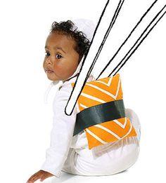 Pillow + ribbon = baby sushi costume! #Halloween http://www.parents.com/holiday/halloween/costumes/sushi-costume/?socsrc=pmmpin092112HWCSushi