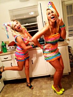 Piñata Halloween Costume # Girly Halloween Women Costume
