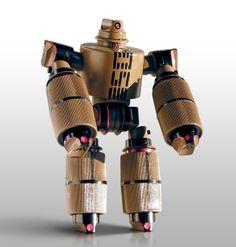 Robocaps by Truly Design , via Behance