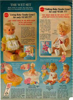 1972 Advertisement Doll Mattell Living Baby Tender Love Raggedy Slumber Ann Andy | eBay