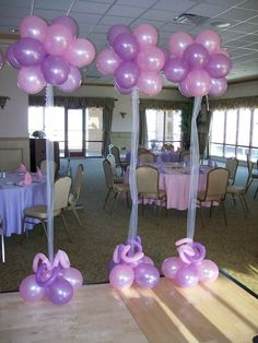 Balloon Centerpiece Ideas | Balloon Decor, Balloon Arches, Columns, Centerpieces and Custom ...