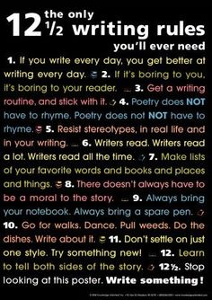 I am definitely putting this up in my English class. THIS is why everyone should write everyday! (My students will be required to do daily journal entries at the beginning of class for 10 minutes!)