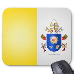 Fill stockings, save 50% | USE CODE: STOCKINGLOVE    |  Papal Coat of Arms Mouse Pads