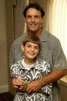 Doug Flutie. Awesome quarterback.  Awesome dad of an autistic child.
