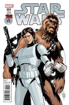 Terry Dodson - Cover of Star Wars # 24