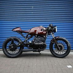 CAFE RACER @caferacergram Tag: #caferacergram #| 'Amducious' BMW R80 by…