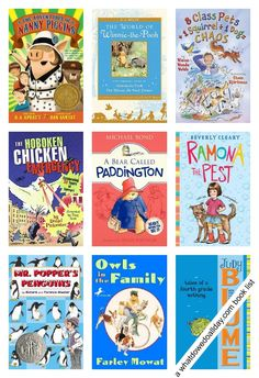 10 hilariously funny books to read aloud to kids.