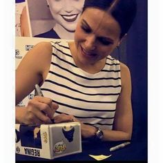 Lana Parrilla at Heroes and Villains Fan Fest - 21 and 22 November 2015