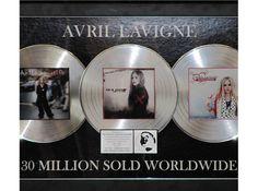 Avril Lavigne's hometown - Plaque of 30 Million Albums Sold Worldwide Prince Edward, Avril Lavigne, Famous People, Albums, History, Historia, Celebrities, Celebs