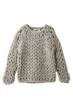 margadirube:  umla:(via (161) Chunky knit | knit | Pinterest)