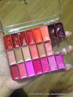 16 Ideen Diy Make-up-Palette Kosmetik Diy Makeup Palette Organizer, Makeup Palette Storage, Diy Makeup Storage, Make Up Palette, Diy Lipstick, Lipstick Palette, Lipsticks, Diy Beauty Secrets, Beauty Products