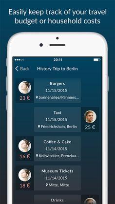 Scalitzer, cost sharing app