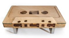 Mixtape - jeffskierkadesigns.com. The Mixtape Table — a 12:1 scale replica of a cassette tape — is now available. The Mixtape Table is made ...