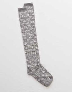 Aerie Fair Isle Over-The-Knee Socks - Buy One Get One 50% Off