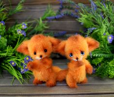 Crochet Bear Patterns, Little Fox, Amigurumi Toys, Handmade Items, Handmade Gifts, Crochet Hooks, Create Yourself, Etsy Seller, Shop