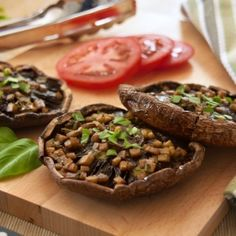 Grilled #Portobello Mushrooms & 3 Super #BBQ Recipes - you'll just have to try this on your next #picnic!