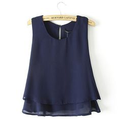 In the hot summer,a stylish tank top is very necessary. How about this one? It features solid color style,with round neck and dual-layer flouncing design,chic and stylish. Comfortable to wear and easy to match. - See more at: http://lulula.bigcartel.com/product/gzxy0769-fashion-solid-color-round-neck-flouncing-chiffon-tank-tops#sthash.0ciJuk0n.dpuf