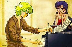 Rei x Jadeite Sailor Moons, Sailor Moon Manga, Sailor Moon Fan Art, Sailor Neptune, Sailor Venus, Sailor Marte, Sailor Moon Kristall, Sailor Moon Wallpaper, First Animation