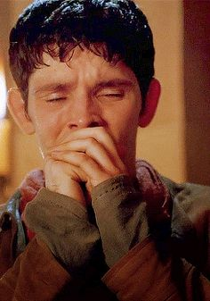 merlin has a lot of crying heartbreaking moments, but this is one of the worst, cause he thinks that he was the one who failed