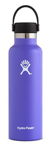 Hydro Flask 24 oz Double Wall Vacuum Insulated Stainless Steel Leak Proof Sports Water Bottle, Standard Mouth with BPA Free Flex Cap, Plum. For product & price info go to:  https://all4hiking.com/products/hydro-flask-24-oz-double-wall-vacuum-insulated-stainless-steel-leak-proof-sports-water-bottle-standard-mouth-with-bpa-free-flex-cap-plum/
