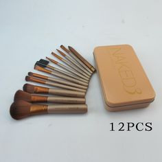 discount urban decay naked 3 brush set 12 piece
