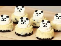 Panda Mini Oreo Cheesecake