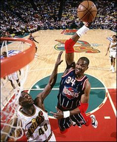 The Dream Hakeem Olajuwon. This man was so smooth on the court. A 7 foot center who moved gracefully in the post like a guard.