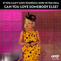 RuPaul is always FIERCE but we love her messages about love. Can't wait for All Stars Drag Race in October 2012!