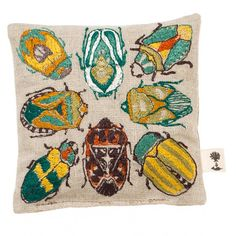 Coral & Tusk - Lavender Sachet - Bugs Embroidered Sachet
