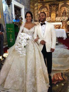 Gelinlik Lace Wedding Dress Luxury Beading Short Sleeve Muslim Wedding Gown With Long Train Off Shoulder