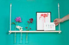 DIY : l'étagère à soliflores