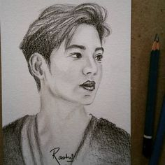 Disappointed, Lee Min Ho, Sketching, Artsy, Portrait, Drawings, Instagram, Headshot Photography, Portrait Paintings