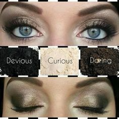 I just love this smokey eye night look with youniques eye pigments!!!!  www.powerfulandyounique.com
